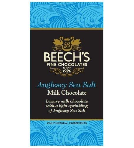Beech's - Anglesey Sea Salt Milk Chocolate Bar - 60g