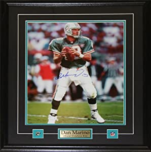 Dan Marino Miami Dolphins Signed 16x20 frame by Midway Memorabilia
