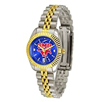 Southern Methodist Mustangs Executive Anochrome Ladies Watch
