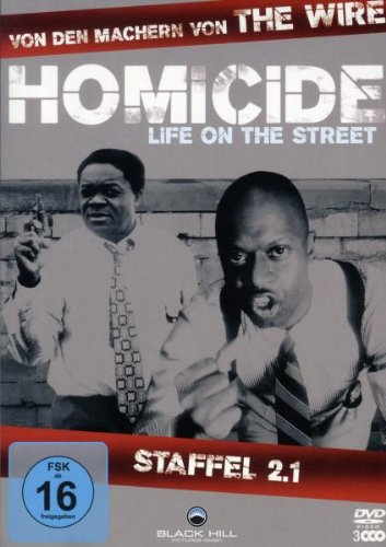 Homicide - Life on the Street, Staffel 2.1 [3 DVDs]