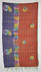 Partywear Lalhaveli Silk Crafted Casual Ladies Scarves Shawl
