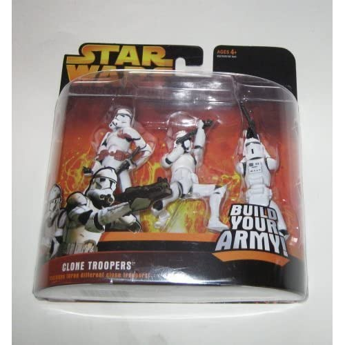 Star Wars Revenge of the Sith - Clone Trooper 3pk