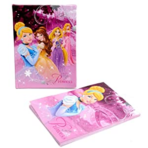Mini Journal Intime + Carnet Disney Princesse, toutes les princesses