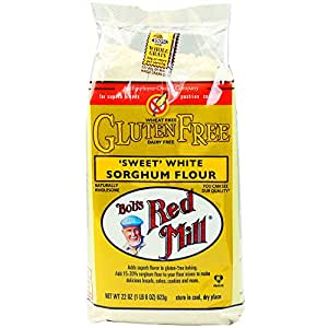 Bob's Red Mill Flour, Sorghum, G/F, 22-Ounce (Pack of 4)