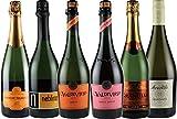 金賞ワイン入り 世界の辛口 スパークリングワイン 飲み比べ 6本セット(チリ フランス イタリア)750ml×6本 ランキングお取り寄せ