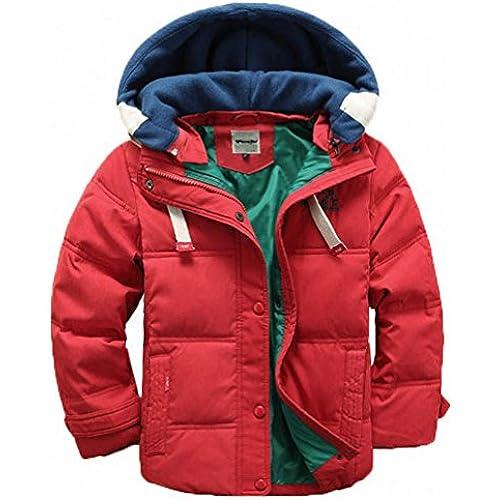 [Yuson Girl]아이 다운 코트 남녀 겸용 다운 재킷 들 다운 코트 키즈 다운 재킷 멋지다 120 130 140 150사이즈 전개-