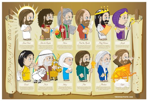 Christian Poster - Holy People Of The Bible 19