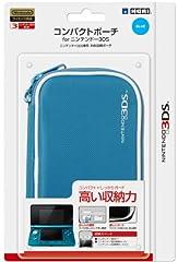 任天堂公式ライセンス商品 コンパクトポーチ for ニンテンドー3DS ブルー