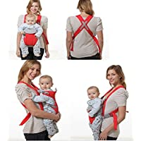 cubee Fancy red Kangaroo Style Baby Carrier
