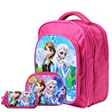 #8: Best shop School Bags combo backpack pink colour for girls