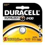 Duracell Medical Lithium Battery, 3V, Type 2430