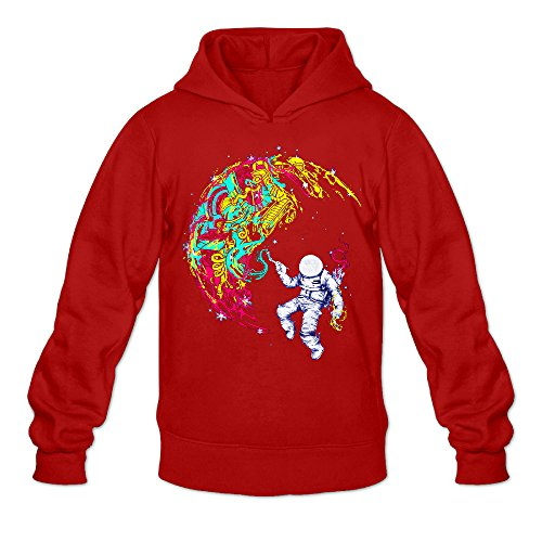yque-mens-space-astronaut-man-on-the-moon-hoodies-hoodie-size-xxl-red
