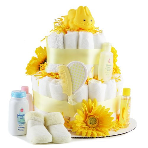 Rub A Dub Dub Baby Diaper Cake
