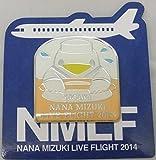 水樹奈々 【LIVE FLIGHT 2014】 ピンズ 香川会場限定