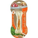 8in1 Delights Chicken Kauknochen Strong Große M, 1 Packung je 1 Stück (1 x 100 g)