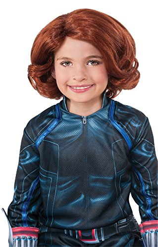 Avengers 2 Age of Ultron Child's Black Widow Wig - 1