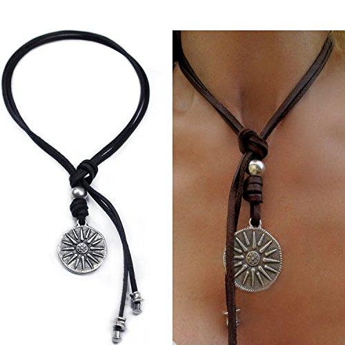 beau-soleil-jewelry-schmuck-lederkette-mit-anhanger-sonne-symbol-halskette-echt-leder-kette-ledersch