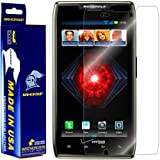 ArmorSuit MilitaryShield - Motorola Droid Razr Maxx Screen Protector Shield + Lifetime Replacements