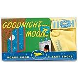 Goodnight Moon Board Book & Baby Socks ~ Margaret Wise Brown