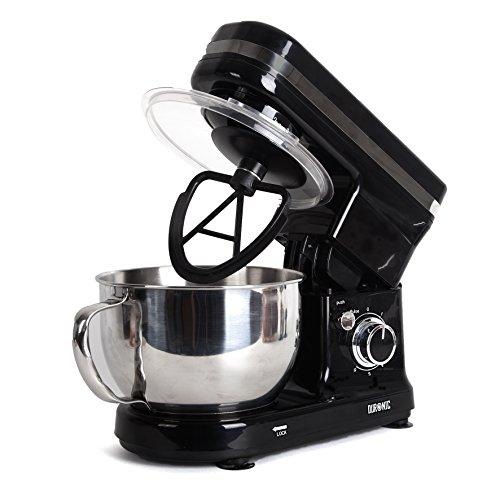 Duronic SM100 - Robot da cucina planetaria e impastatrice 450W. ciotola da 4L