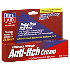 Rite Aid Pharmacy Anti-Itch Cream, Maximum Strength, 1 oz (28 g)