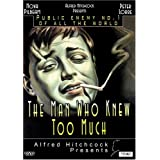 The Man Who Knew Too Much, 1934 (Enhanced Edition) ~ Leslie Banks, Edna...