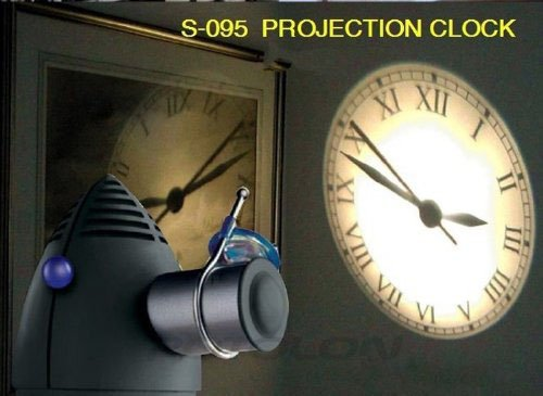 Potolon New Projection Clock Rome Numeral Style Big Display Clock front-911185