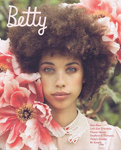 Betty Magazine No.16 2016 大きい表紙画像