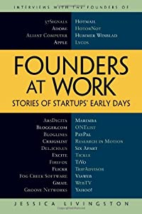 Cover of &quot;Founders at Work: Stories of St...