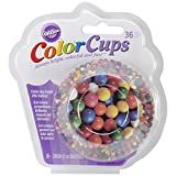 Wilton Standard Real Photo Clear Baking Cups Gumballs 36-Pack