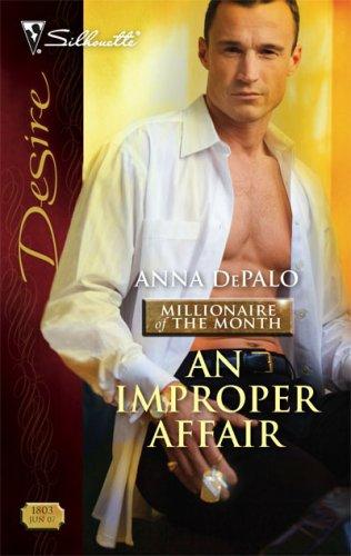 Image of An Improper Affair (Silhouette Desire)