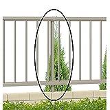 三協アルミ 形材フェンス マイエリア2 自在柱 H800用 JFP3-08 【アルミフェンス 柵】  アーバングレー