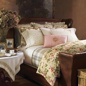 Amazon com lauren by ralph lauren yorkshire rose twin duvet floral