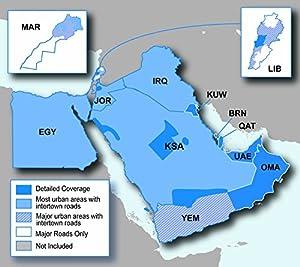Garmin Middle East and Africa nüMaps