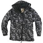 ililily Winter Overcoat Snowboard Jacket with Hood (jackets-014-9-M)