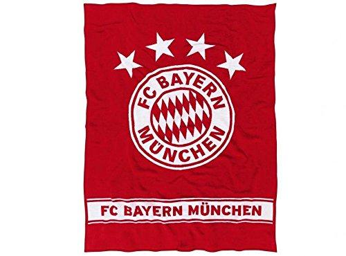 FC Bayern München 18880 Kuscheldecke 150x200 cm