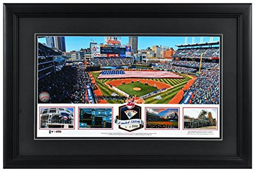 progressive-field-cleveland-indians-framed-stadium-panoramic-with-game-used-ball-limited-edition-of-