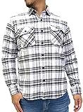 (ルーシャット) ROUSHATTE シャツ メンズ 長袖 チェックシャツ 16color M チェック2
