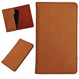 DCR Pu Leather case cover for Blu Dash 4.5 (orange)
