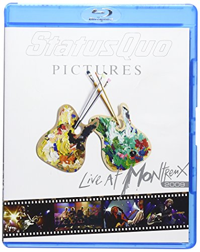 Blu-ray : Status Quo - Pictures: Live at Montreux 2009