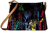 Snoogg Paint Splash Designer Womens Carry Around Sling Bags
