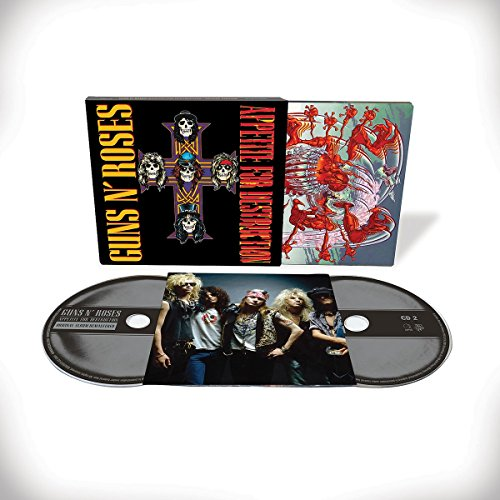 """CD : Guns N Roses - 30th Anniversary Of """"appetite For Destruction"""" (Deluxe Edition, 2PC)"""