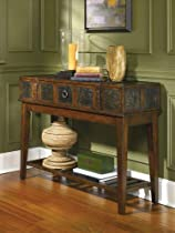 Hot Sale McKenna Dark Brown Rustic Sofa Table