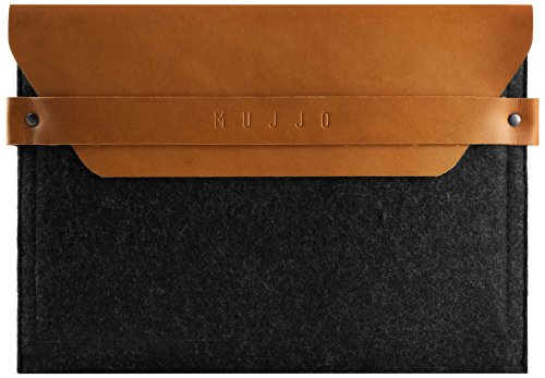 Mujjo MUJJO-SL-014-TN Understated Envelope Sleeve für Apple iPad Air tan