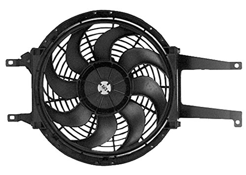 Acdelco 15-8686 Gm Original Equipment Auxiliary Engine Cooling Fan Assembly