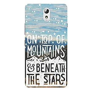 Back cover for Lenovo Vibe P1 On Top of Mountains