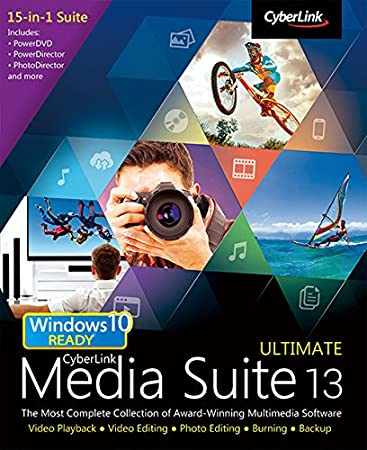 CyberLink Media Suite 13 Ultimate [Download]