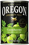 Oregon Fruit Gooseberries in Light Syrup, 15-Ounce Cans (Pack of 8)