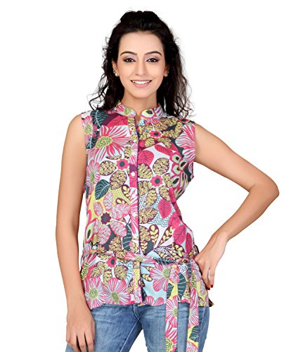 Lifestyle Lifestyle Retail Women Cotton Printed Tunic (Multicolor)