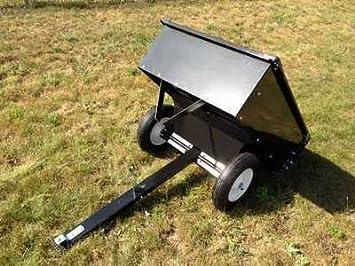 ⊹Remorque tractée ▻ pour pour tondeuse autoportée tracteur quad ...